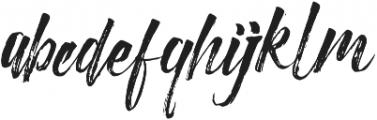 Christmas Beauty Script otf (400) Font LOWERCASE