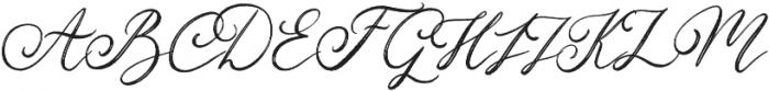 Christmas Eve otf (400) Font UPPERCASE