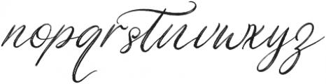 Christmas Eve otf (400) Font LOWERCASE