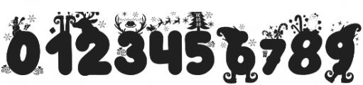 Christmas Joy otf (400) Font OTHER CHARS
