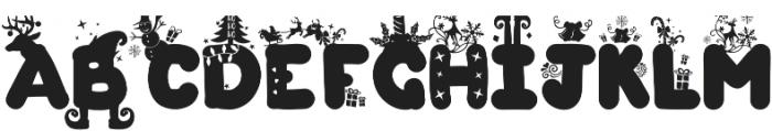 Christmas Joy otf (400) Font UPPERCASE