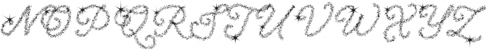 Christmas Miracle otf (400) Font UPPERCASE