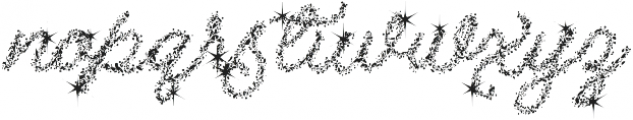 Christmas Miracle otf (400) Font LOWERCASE