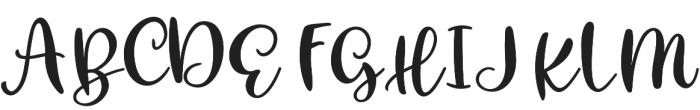 Christmas Mystery otf (400) Font UPPERCASE