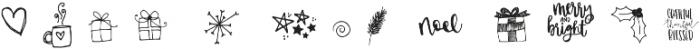 Christmas Symbols Symbols otf (400) Font LOWERCASE