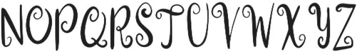 Christmas Workshop otf (400) Font UPPERCASE