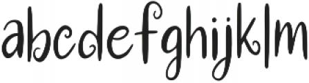 Christmas Workshop otf (400) Font LOWERCASE