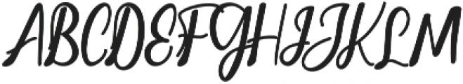 Christopher Script Regular ttf (400) Font UPPERCASE