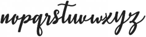 Christopher Script Regular ttf (400) Font LOWERCASE