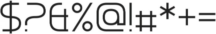 Chrobot otf (400) Font OTHER CHARS