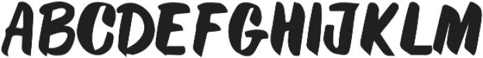 Chroma ttf (400) Font UPPERCASE