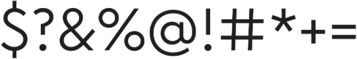Chromatica otf (400) Font OTHER CHARS
