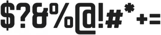 Chromoxome Pro Bold otf (700) Font OTHER CHARS