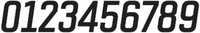 Chromoxome Pro Semi Bold Oblique otf (600) Font OTHER CHARS