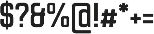Chromoxome Pro Semi Bold otf (600) Font OTHER CHARS