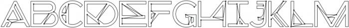 Chronic Cosmos otf (400) Font LOWERCASE