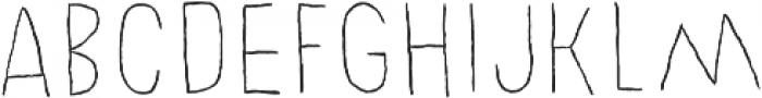 Chronic Line otf (400) Font UPPERCASE