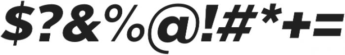 Chronica Pro Black Italic otf (900) Font OTHER CHARS
