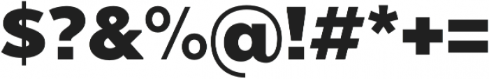 Chronica Pro Heavy otf (800) Font OTHER CHARS