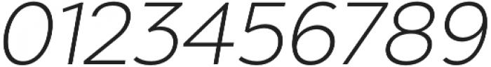 Chronica Pro Light Italic otf (300) Font OTHER CHARS