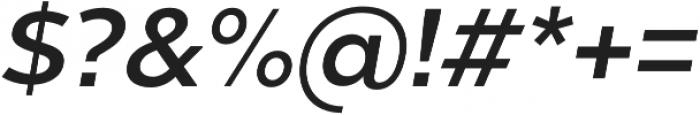 Chronica Pro Medium Italic otf (500) Font OTHER CHARS