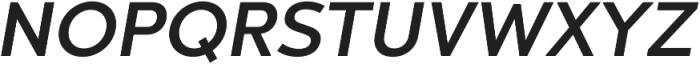 Chronica Pro Medium Italic otf (500) Font UPPERCASE