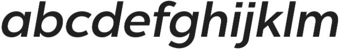Chronica Pro Medium Italic otf (500) Font LOWERCASE