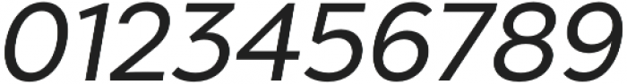 Chronica Pro Regular Italic otf (400) Font OTHER CHARS