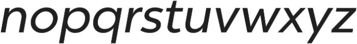 Chronica Pro Regular Italic otf (400) Font LOWERCASE