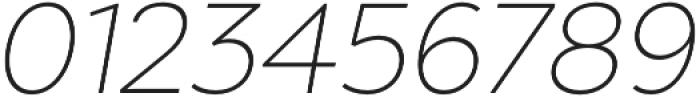 Chronica Pro UltraLight Italic otf (300) Font OTHER CHARS