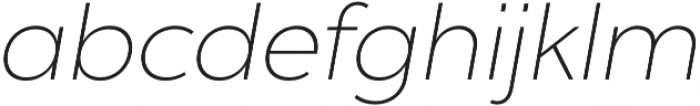 Chronica Pro UltraLight Italic otf (300) Font LOWERCASE