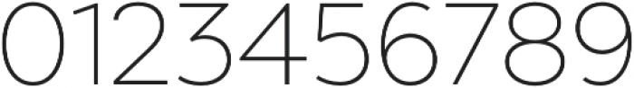 Chronica Pro UltraLight otf (300) Font OTHER CHARS