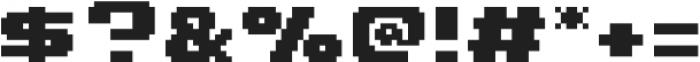 Chubby Choo SemiBold otf (600) Font OTHER CHARS