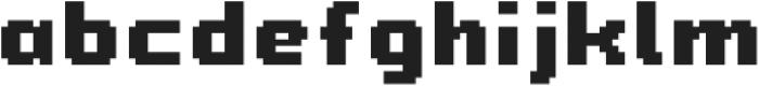 Chubby Choo otf (400) Font LOWERCASE
