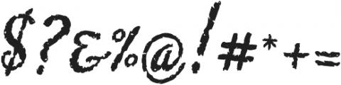 Chupito Brownie ttf (400) Font OTHER CHARS