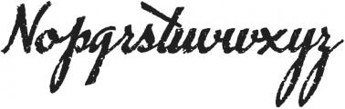 Chupito Brownie ttf (400) Font UPPERCASE
