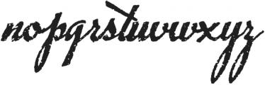 Chupito Brownie ttf (400) Font LOWERCASE