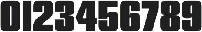 Churchward 69 ExtraBold otf (700) Font OTHER CHARS