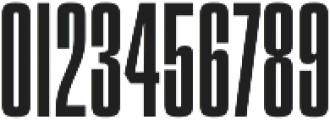 Churchward 69 Regular otf (400) Font OTHER CHARS