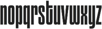 Churchward 69 Regular otf (400) Font LOWERCASE