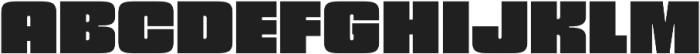 Churchward 69 UltraBlack otf (900) Font UPPERCASE