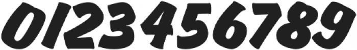 Churchward Brush Italic otf (400) Font OTHER CHARS