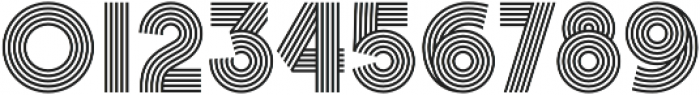 Churchward Design Lines otf (400) Font OTHER CHARS