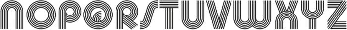 Churchward Design Lines otf (400) Font UPPERCASE