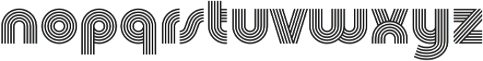 Churchward Design Lines otf (400) Font LOWERCASE