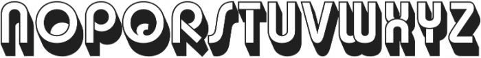 Churchward Design Reverse Shadow otf (400) Font UPPERCASE