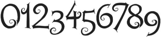 Chyga otf (400) Font OTHER CHARS