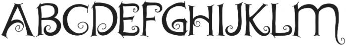 Chyga otf (400) Font UPPERCASE
