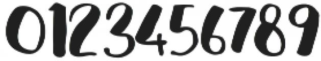 cHocolava Regular otf (400) Font OTHER CHARS