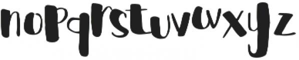 cHocolava Regular otf (400) Font LOWERCASE